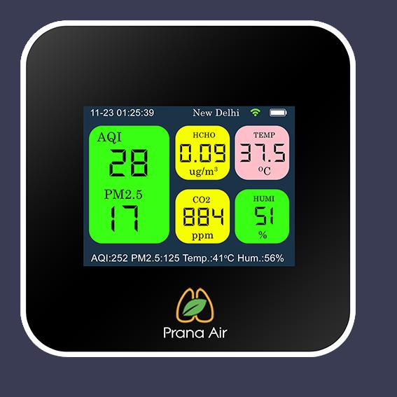 Prana Air Cair+air monitor