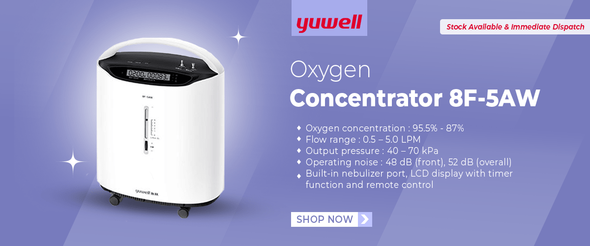 yuwell Oxygen Concentrator web banner