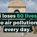 Air Pollution Level in Delhi Causes Deaths of 80 Lives Everyday