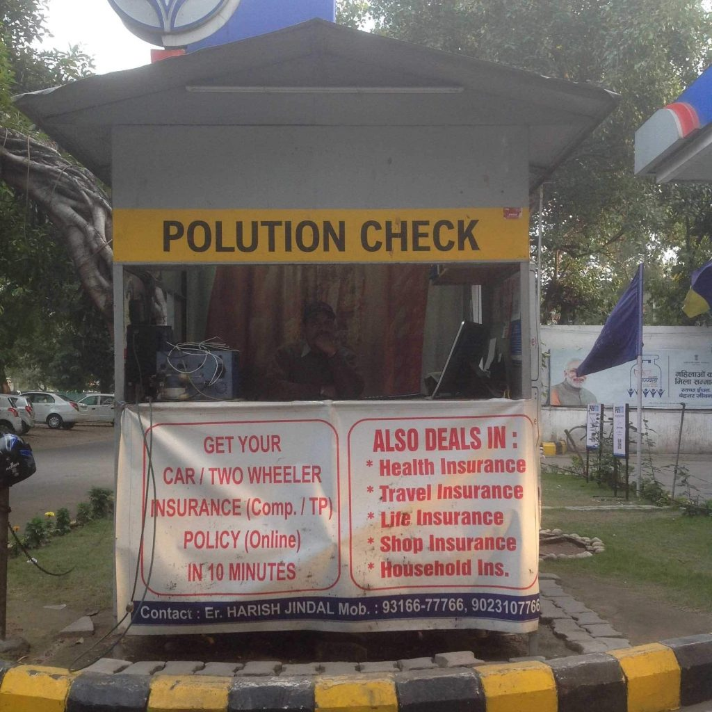 pollution in Chandigarh
