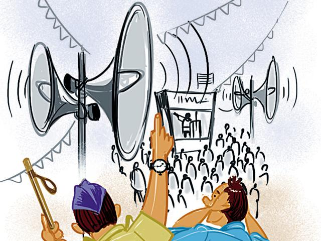 delhi noise pollution
