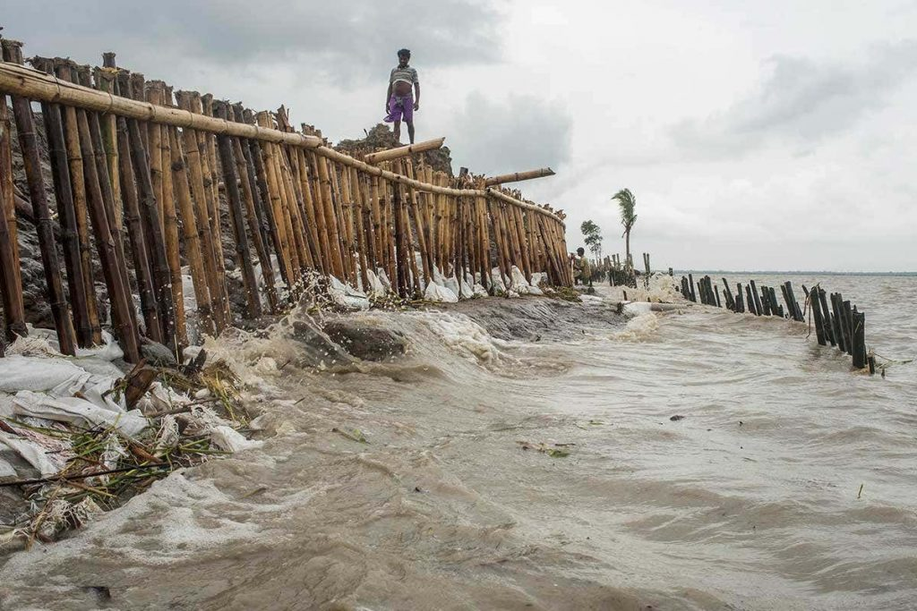 Climate Change Impacts Human Displacement