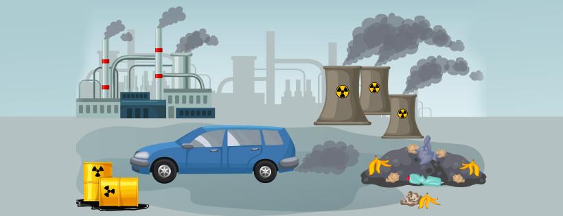 Decreasing air quality of Delhi and rising pollution